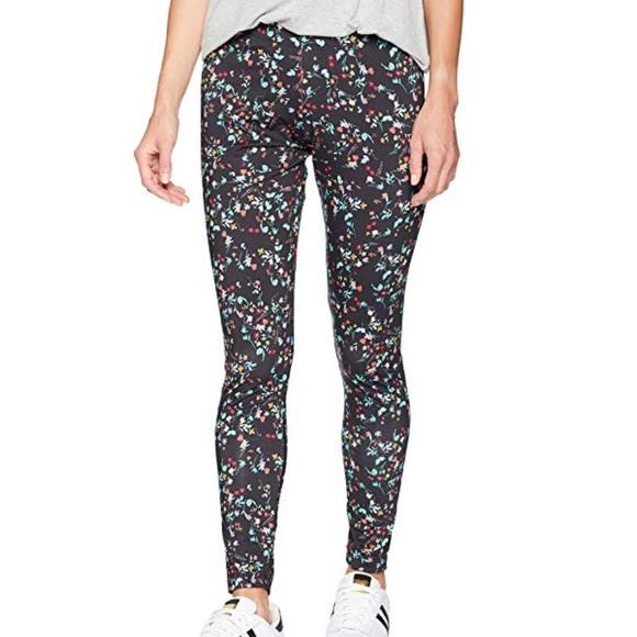 04d4d69e5d adidas Pants | Originals Floral Print Leggings Black Xl | Poshmark